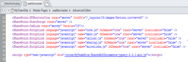 cascading dropdown jquery using sharepoint 2016