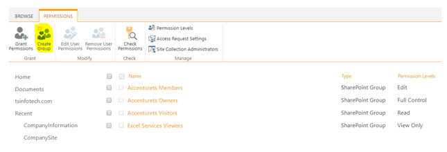 create a group and how to add an user to that group in sharepoint