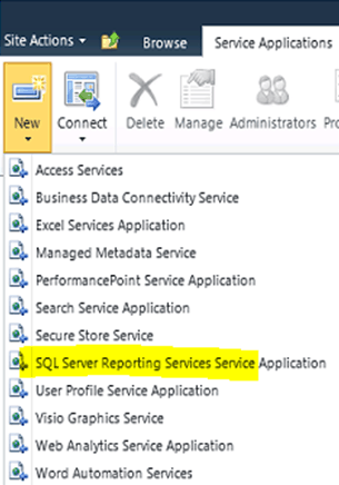 Install and Configure SQL Server Reporting Services Service