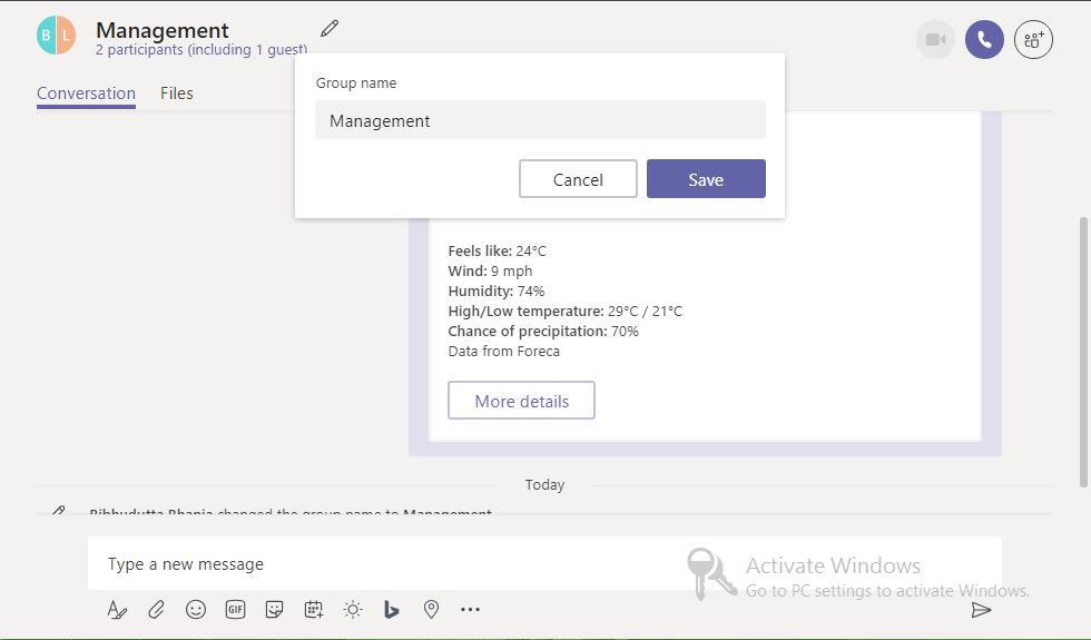 microsoft teams file storage