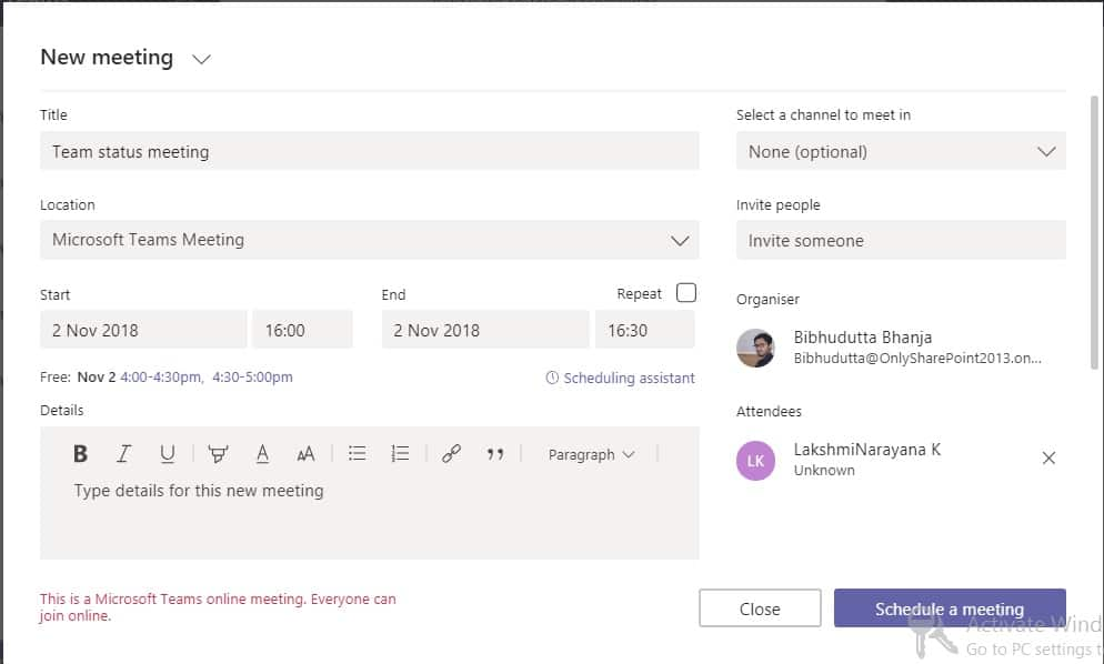 microsoft teams limitations