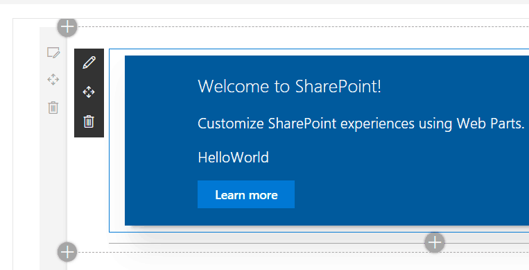 SharePoint framework development