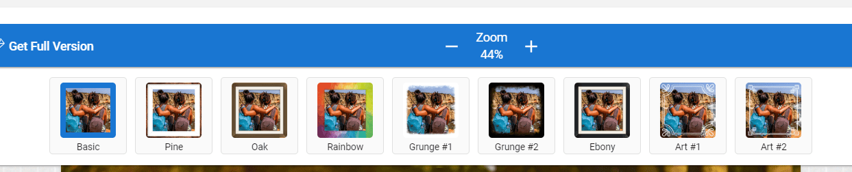 SharePoint image editor frame