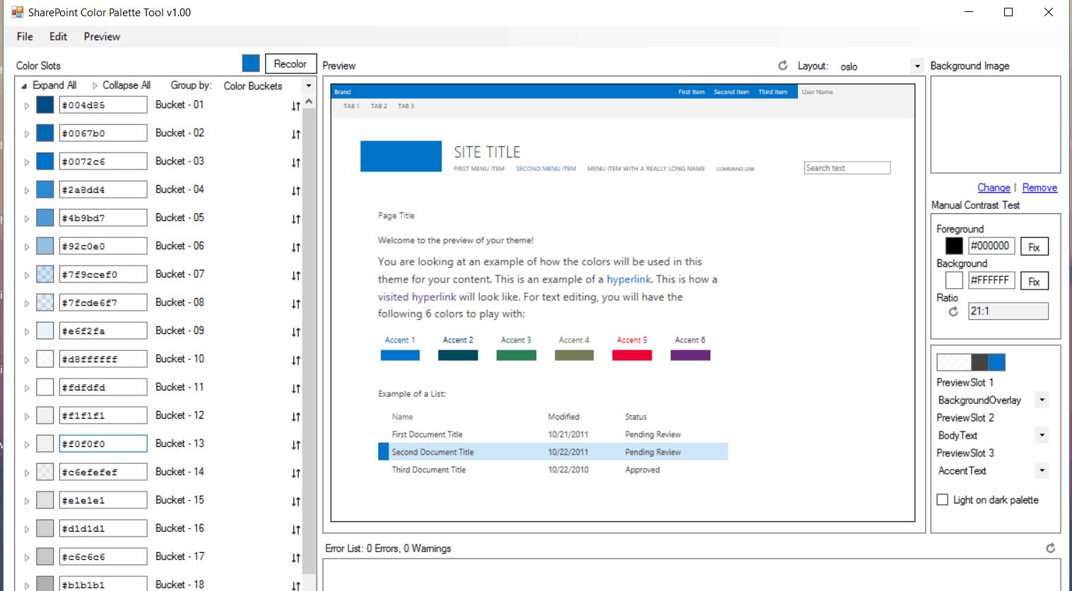 Deploy a custom theme in SharePoint
