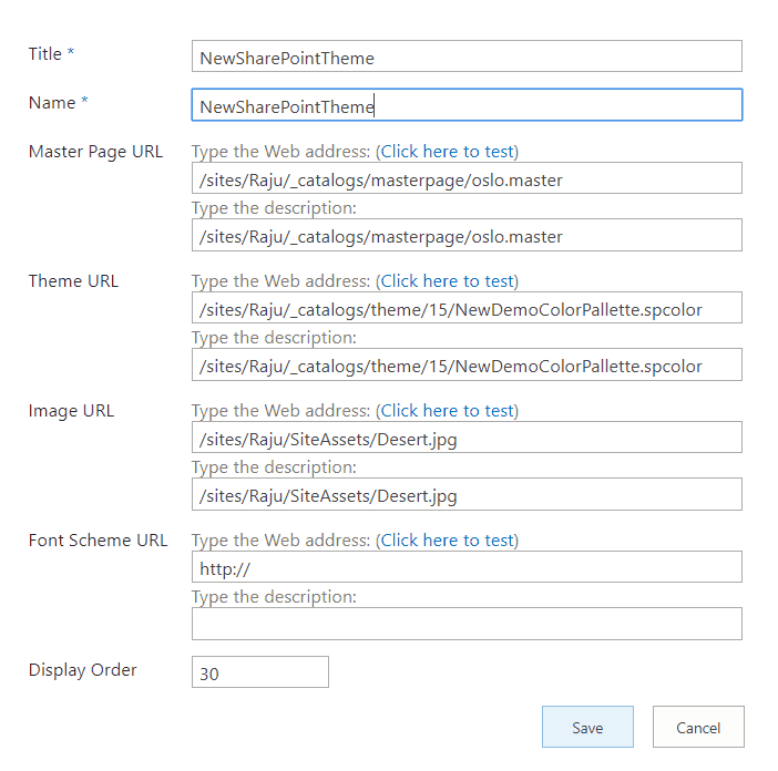 create and deploy a custom theme in sharepoint