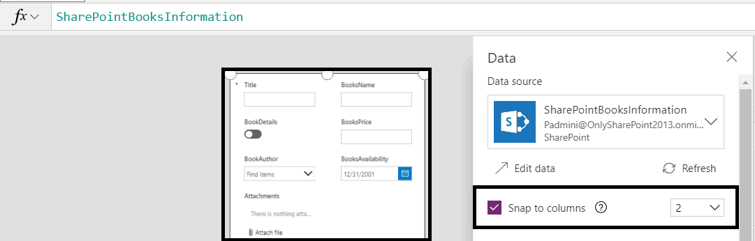 sharepoint powerapps forms