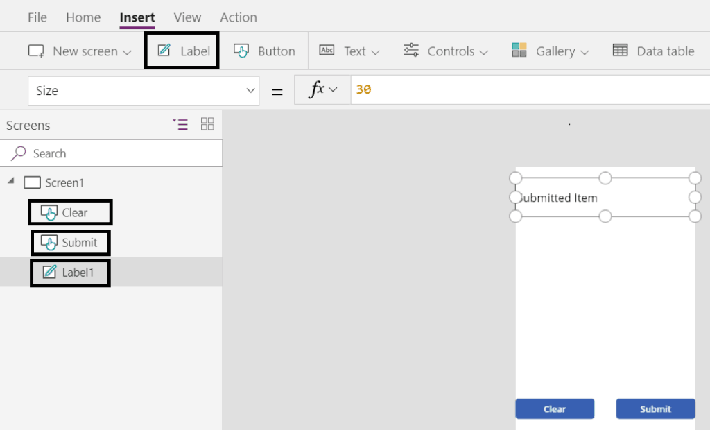 PowerApps create an item in SharePoint list