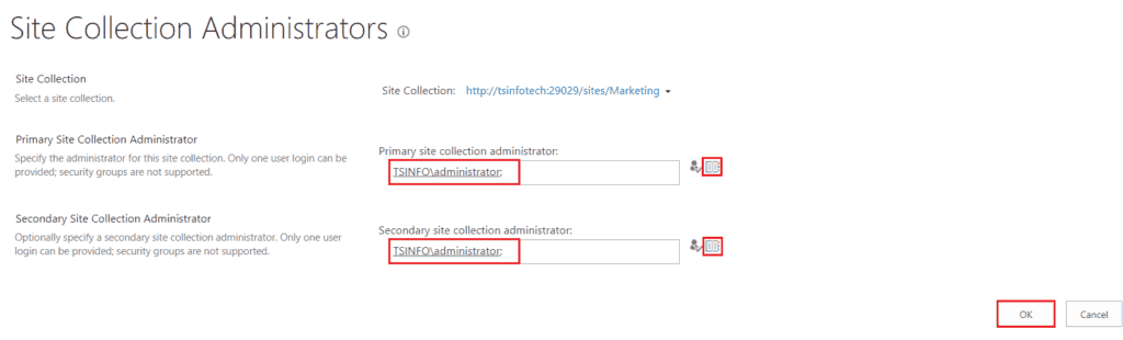 SharePoint 2013 change site collection administrator
