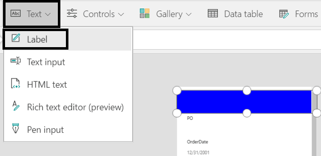 customize sharepoint form in powerapps