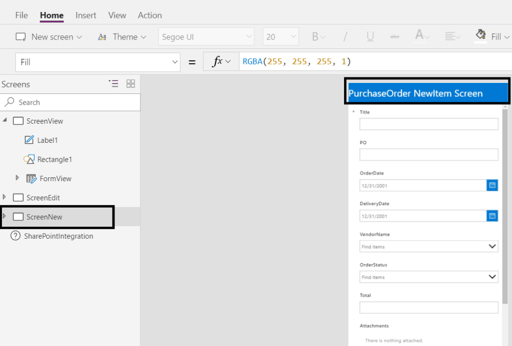 Customize SharePoint online list forms like new, edit and