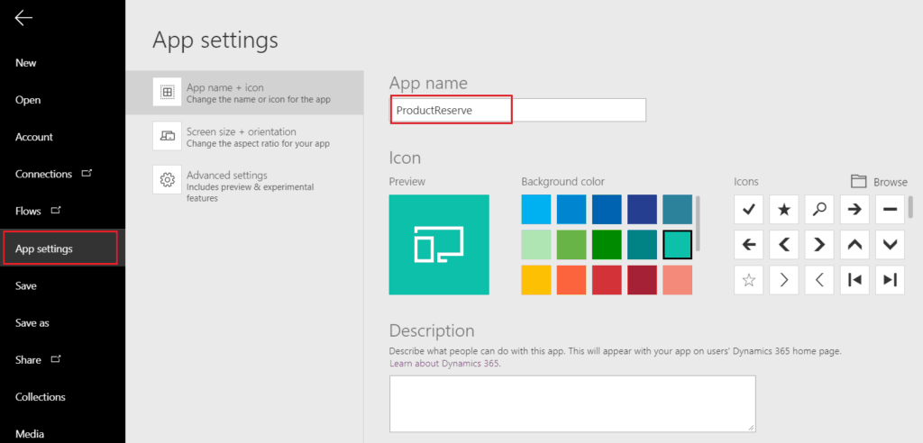 create powerapps form