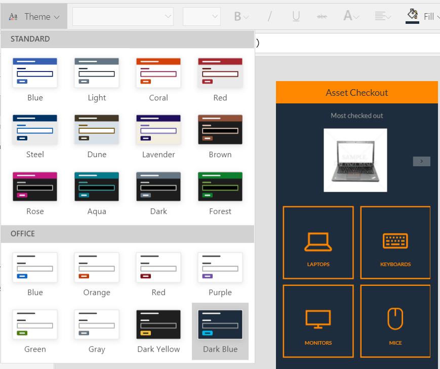 powerapps templates