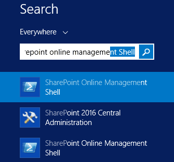 sharepoint online management shell download
