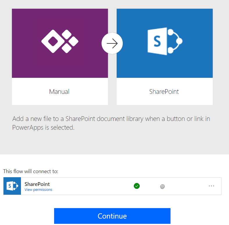 PowerApps upload file to SharePoint Online document library