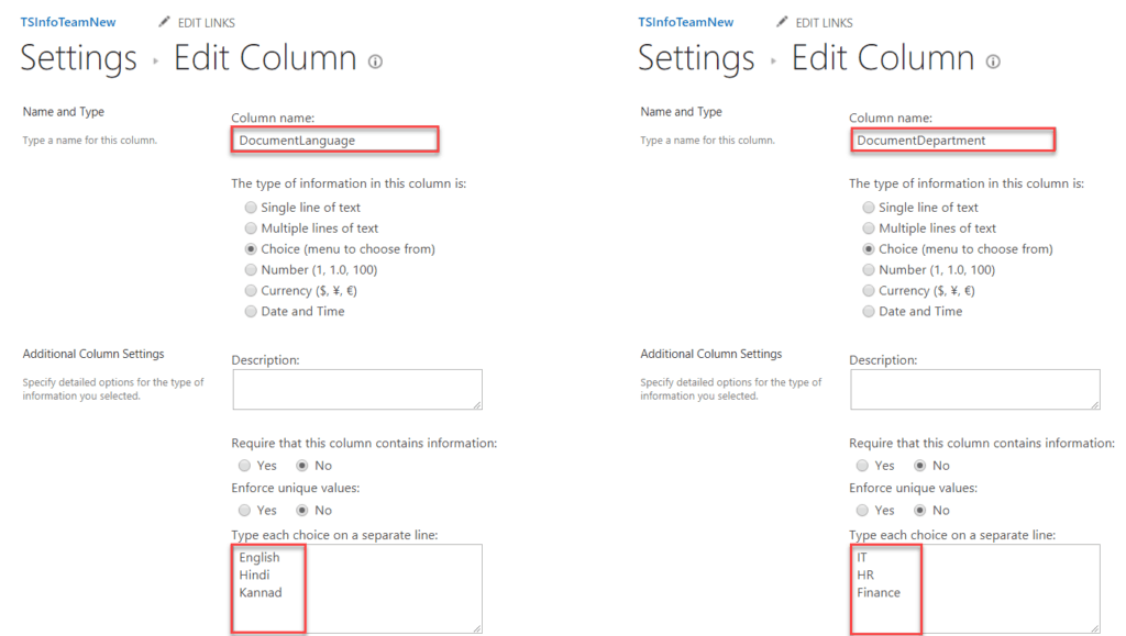 create column in sharepoint 2016 document library programmatically