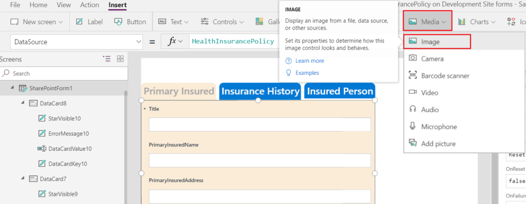 Customize SharePoint form using PowerApps