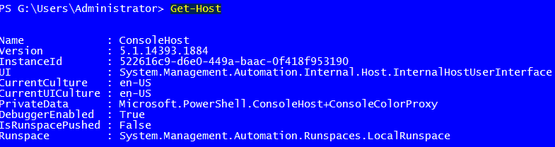 powershell read-host