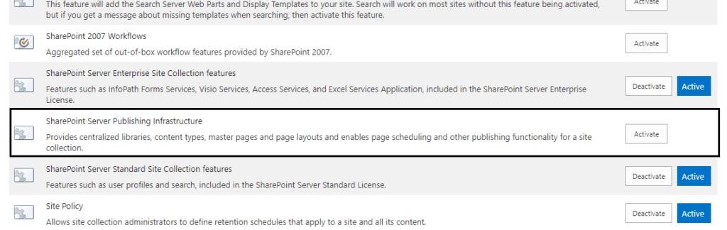 sharepoint 2013 content query web part not available