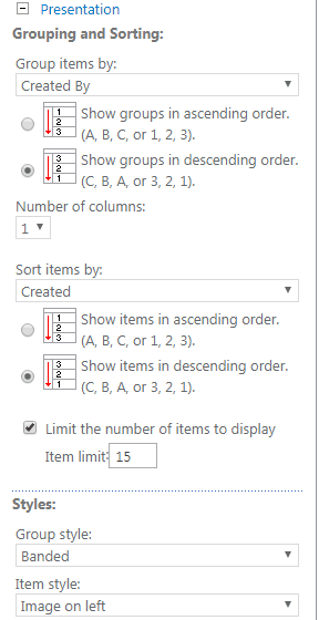 sharepoint 2016 content query web part dynamic filter