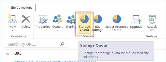 Increase SharePoint Online storage quota
