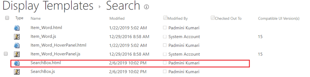 SharePoint online search box web part