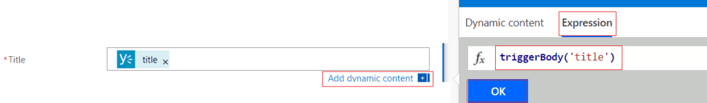 When a message is posted on a group, create a SharePoint list item in microsoft flow