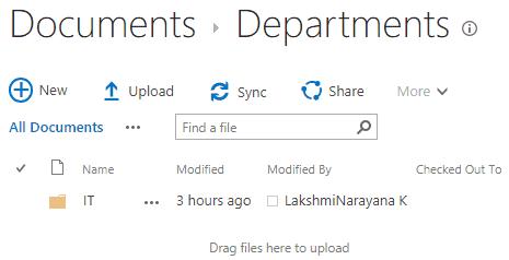 sharepoint online create folder using pnp core csom