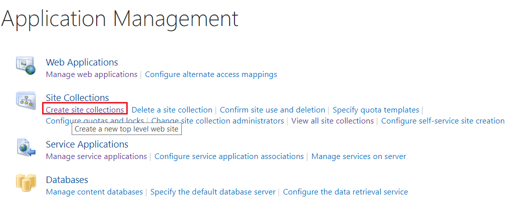 create modern team site in sharepoint 2019 on premise