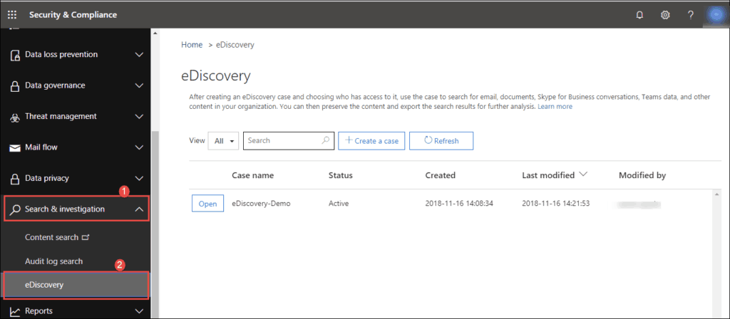 export pst from office 365 admin center