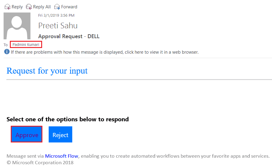 Email notification after approval from SharePoint list in flow