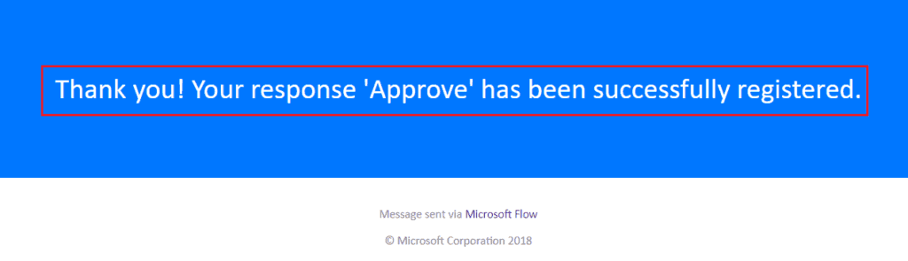Email notification after approval from SharePoint list in Microsoft flow