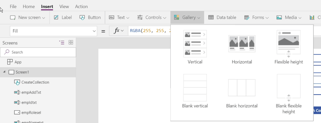 Working with PowerApps Collection - SharePointSky