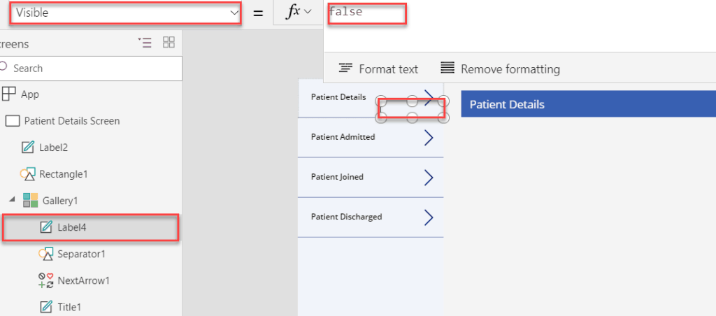 powerapps navigate thisitem