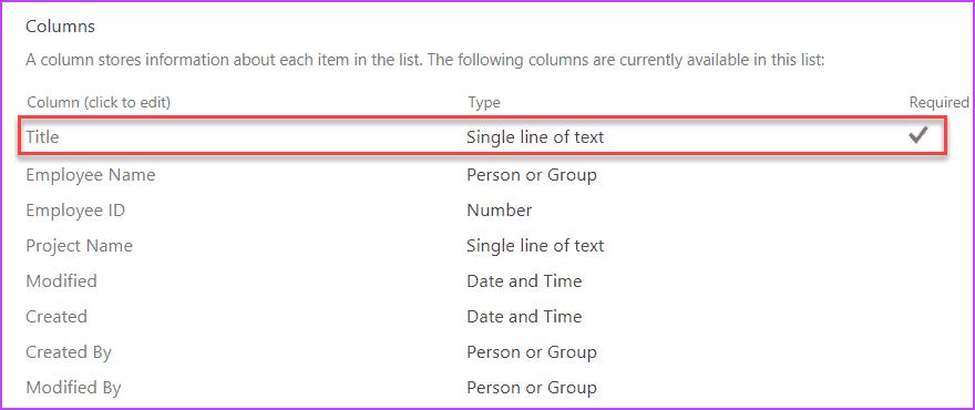Remove SharePoint List Title Column Programmatically using PnP CSOM