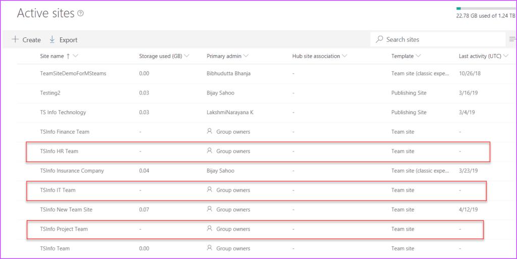 Create Modern Team Site and Subsite using pnp csom