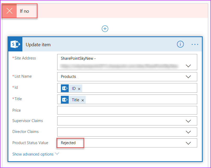 microsoft flow approval examples