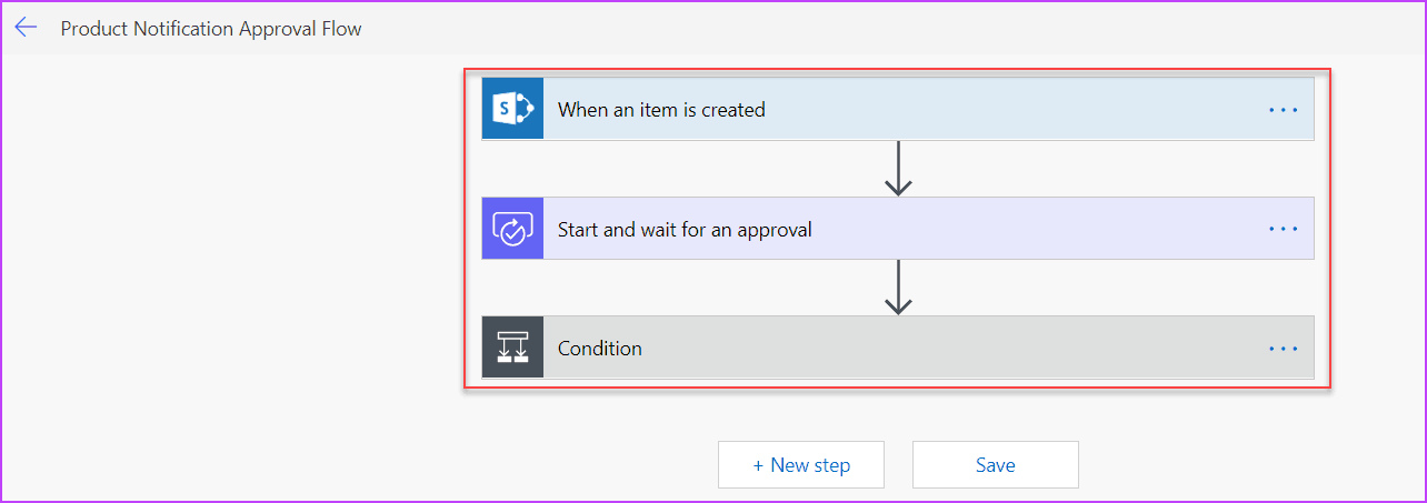microsoft flow approval type