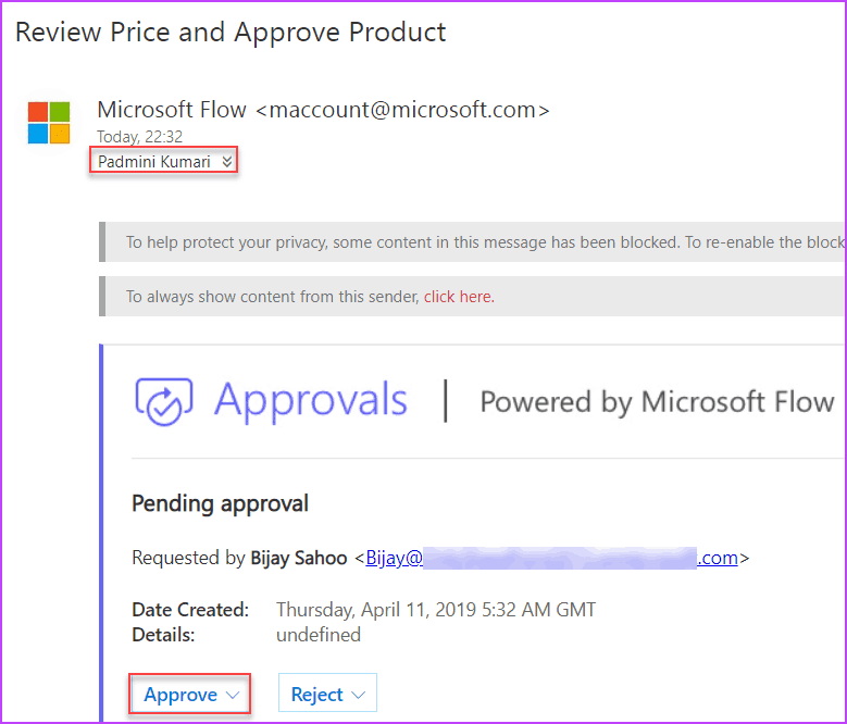 microsoft flow approval workflow examples