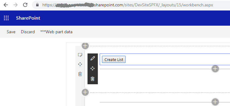 create list using sharepoint framework
