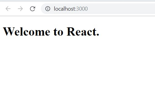 React DOM Render