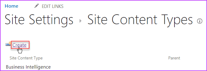 content type hub in sharepoint online