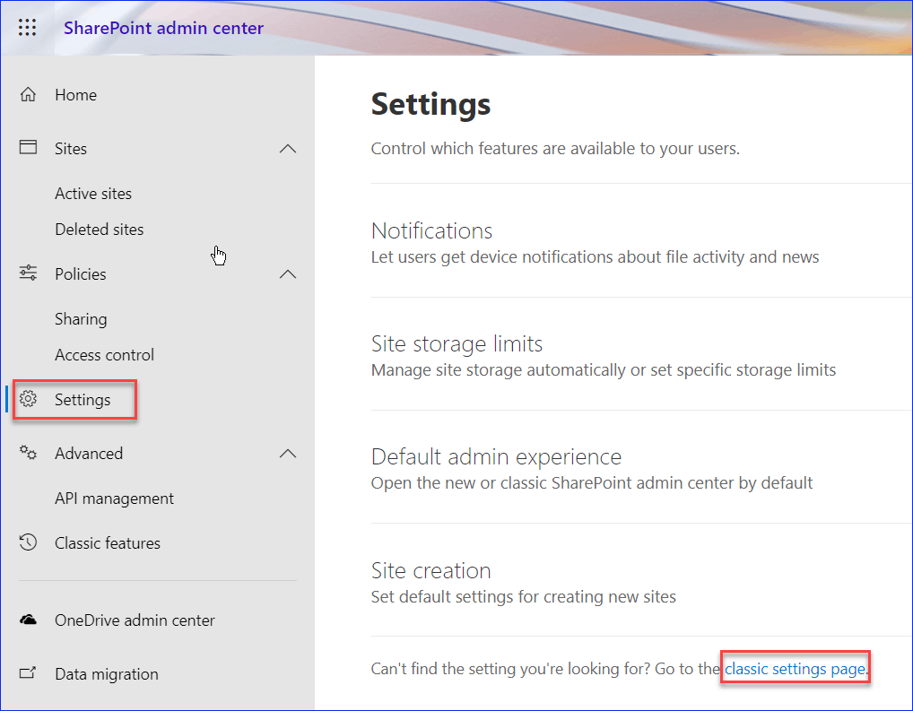 save list as template missing sharepoint online