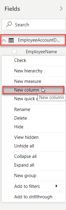 power bi calculated column group by