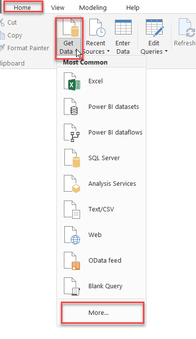 Power BI: Create a various report from SharePoint Online