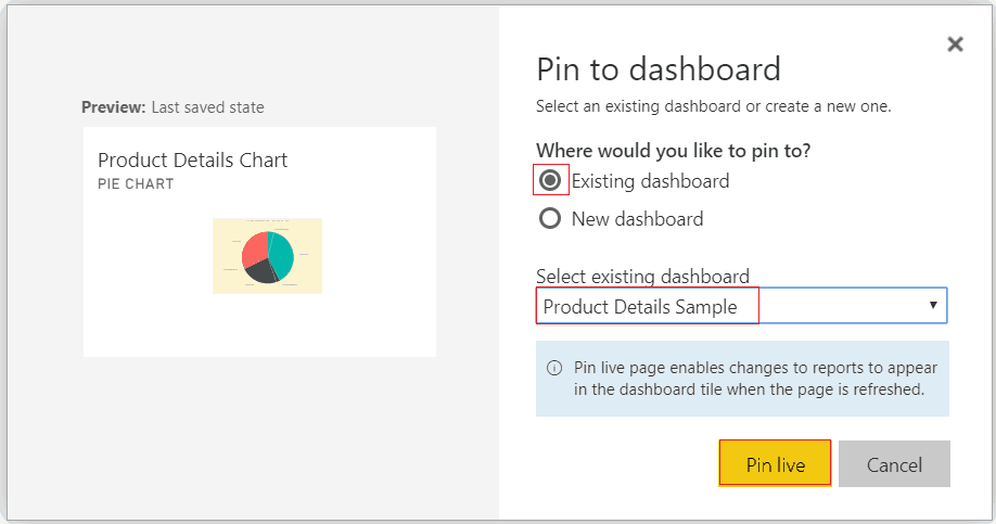 power bi interactive dashboard