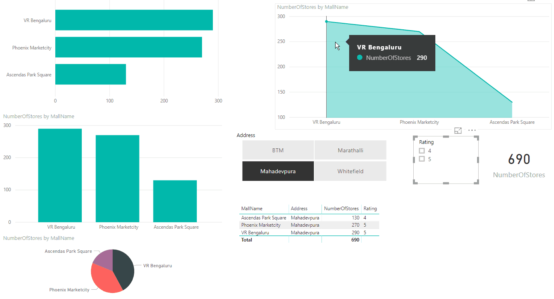 power bi slicer visualization
