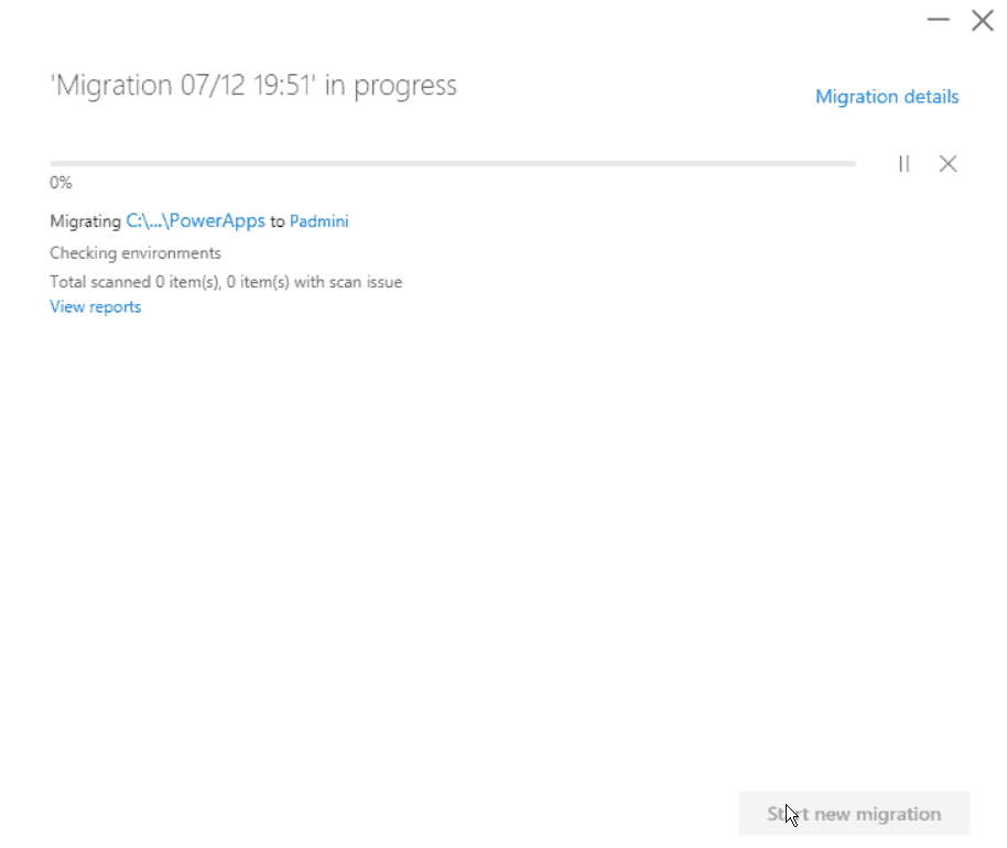 using sharepoint migration tool
