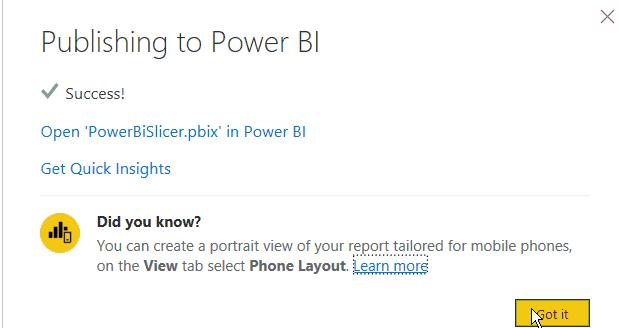 power bi slicer page filter