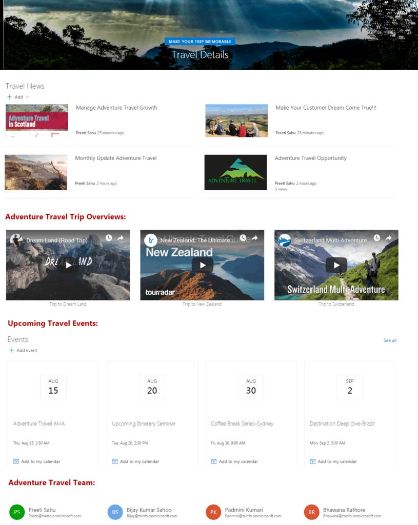 Customize Modern SharePoint Online Site