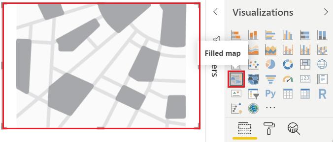 filled map in power bi